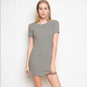 Brand Melville Jenelle striped dress